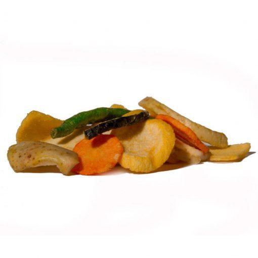 groente- en fruitchips