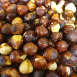 hazelnoten bruin gebrand